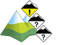 Avalanche Bulletin - Waterton Lakes National Park: alpine: 2 - Moderate, treeline: 1 - Low, below treeline: 1 - Low