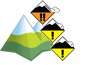 Avalanche Bulletin - Waterton Lakes National Park: alpine: 3 - Considerable, treeline: 2 - Moderate, below treeline: 2 - Moderate
